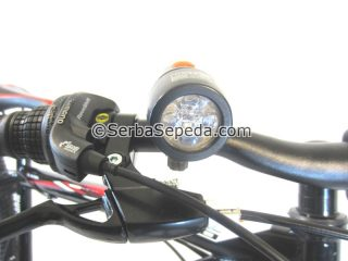 HEADLAMP DEPAN BELAKANG WILDWOLF new
