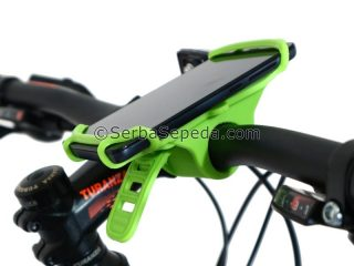 PHONE HOLDER SILICONE 1 putih
