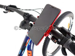 Phone holder besi 1