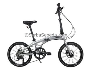 Sepeda Element Ecosmo 9 Speed Silver (1)